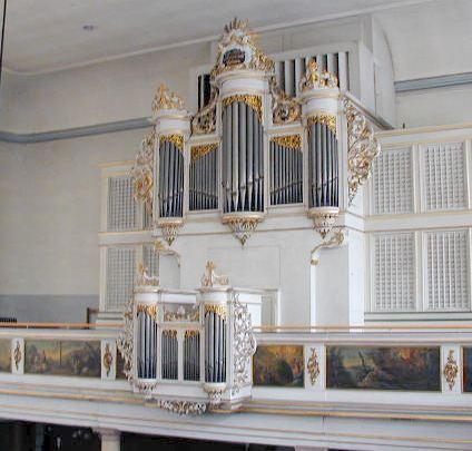 orgue Muhleisen Silbermann Strasbourg Saint Aurérélie